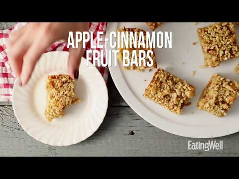 How to Make Apple-Cinnamon Fruit Bars | EatingWell