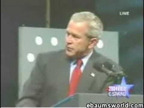 bush cunt George