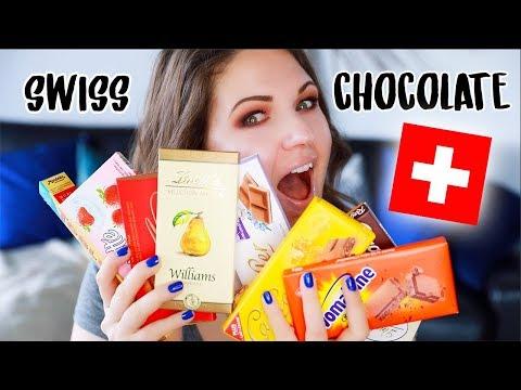 Top 10 Swiss Chocolates!! Swiss Candy Taste Test
