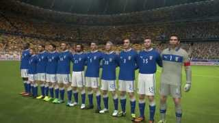 PES 2014 - Gameplay - Italy   Spain