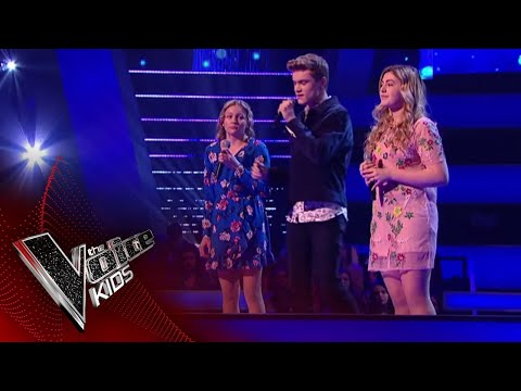 Holly, LaurenMia and Will perform God Only Knows: Battles 2  The Voice Kids UK 2018