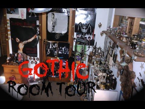 Gothic Bedroom Tour #4