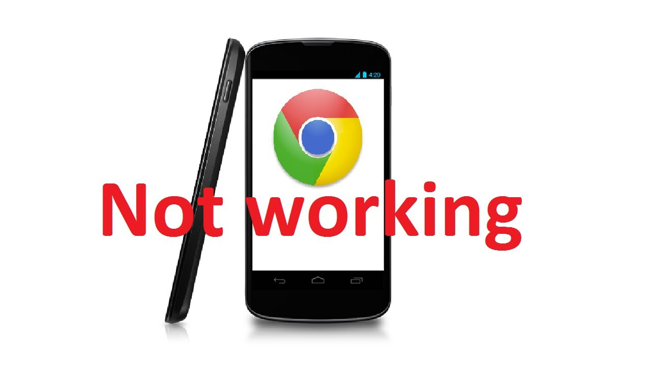 Google Chrome not working on Android  FIX - YouTube