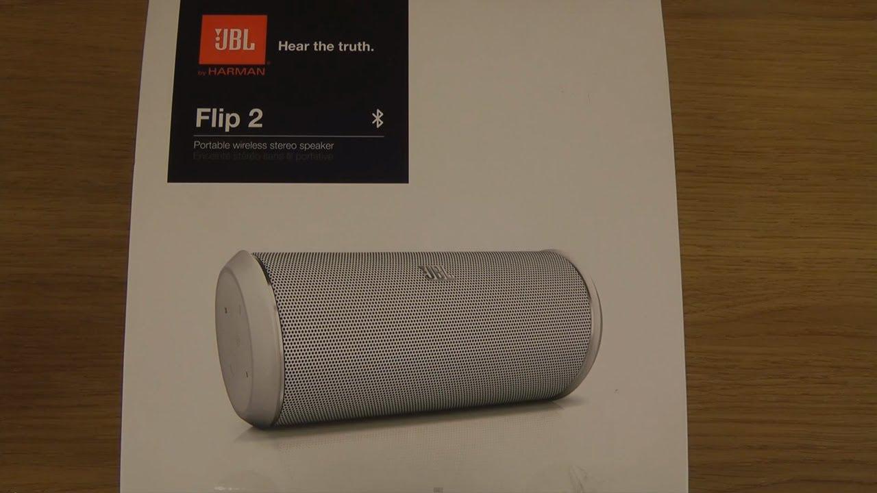 jbl flip 2 unboxing youtube. Black Bedroom Furniture Sets. Home Design Ideas