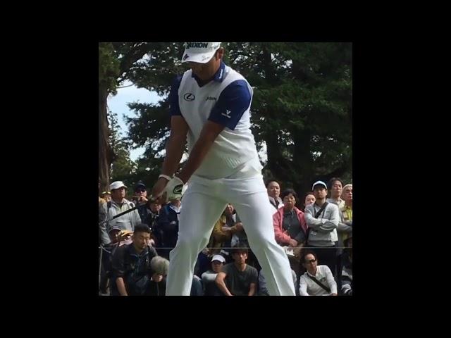 【ゴルフスイング】松山英樹(Hideki Matsuyama)スローモーションあり
