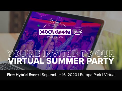 CloudFest Parkside: Summer Party Teaser