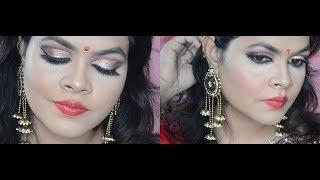 Poila Baisakh Look | Bengali New Year 2018 | pinknplums