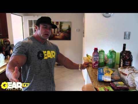 Bodybuilder Aaron Clark Grocery Store Shopping Trip - Bodybuilding Food