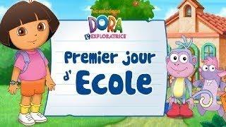 Dora l'exploratrice en Français | Le premier jour d'école | Jeux éducatifs pour Enfants