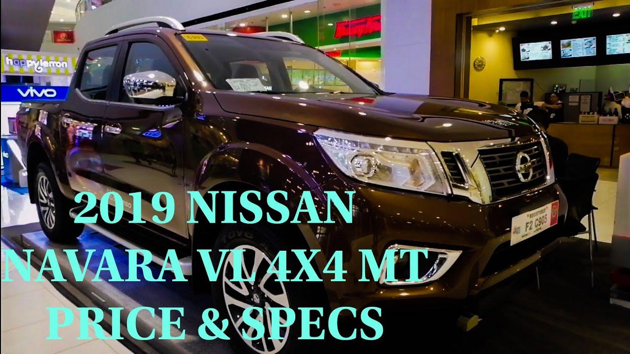 2019 NISSAN NAVARA VL 4X4 MT PRICE & SPECS
