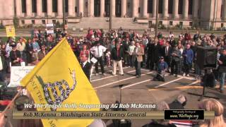 Atty Gen Rob McKenna Represents We the People