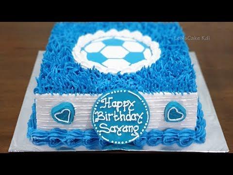 Kue Ulang Tahun Anak Laki Laki Kue Ultah Cake Kue Tart Sederhana Youtube