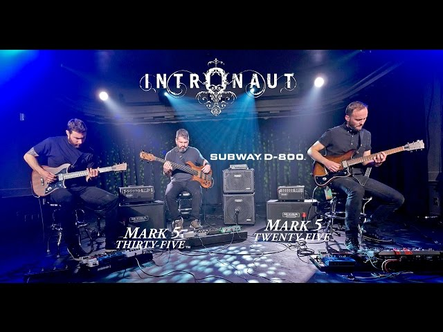 "Tone Sessions: Intronaut ""Sul Ponticello"" – Mark Five: 25, Mark Five: 35 & Subway D-800"