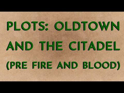 Plots: Oldtown & The Citadel (spoilers)