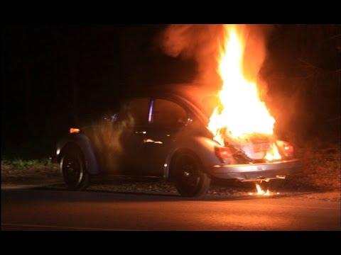 VW carburetor nipple failure fire hazard 34PICT-3