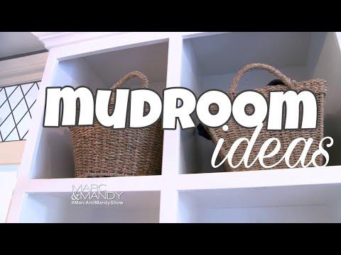 Interior Design: Custom Mudroom Ideas
