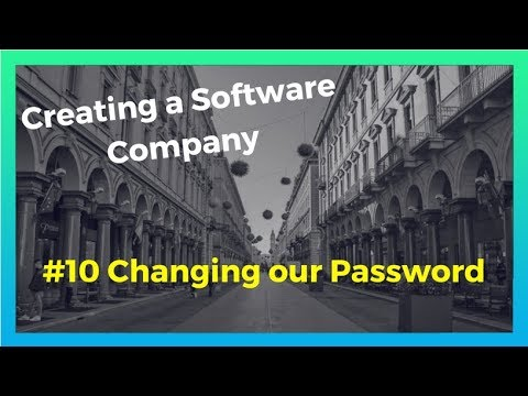 AWS Cognito with Node JS: Changing Passwords - Building a Software Company  #10