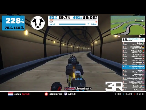 Zwift - Tour of London - Stage 2 (15-12-2018)