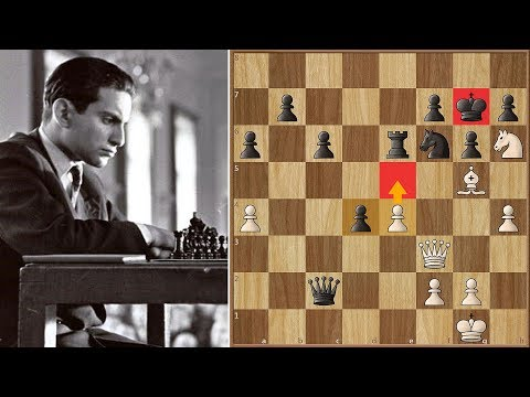 The Mistake, The Attack and The King Move That Settled All || Keres vs Tal