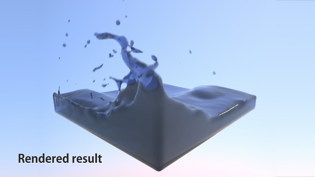 NVIDIA PhysX FleX and other fluid solvers for high-quality fluid