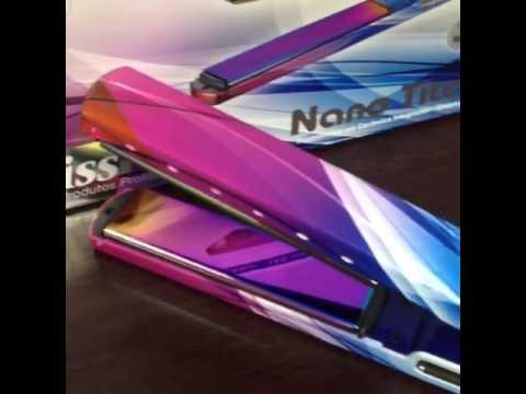 4f9d670e9 Babyliss Pro Prancha Prismatic Nano Titanium www.belezaumclick.com ...