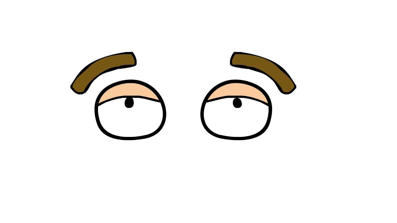 Cartoon Eyes Blinking