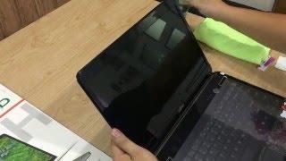 Dán màn hinh Laptop Macbook cảm ứng chống vân tay bụi
