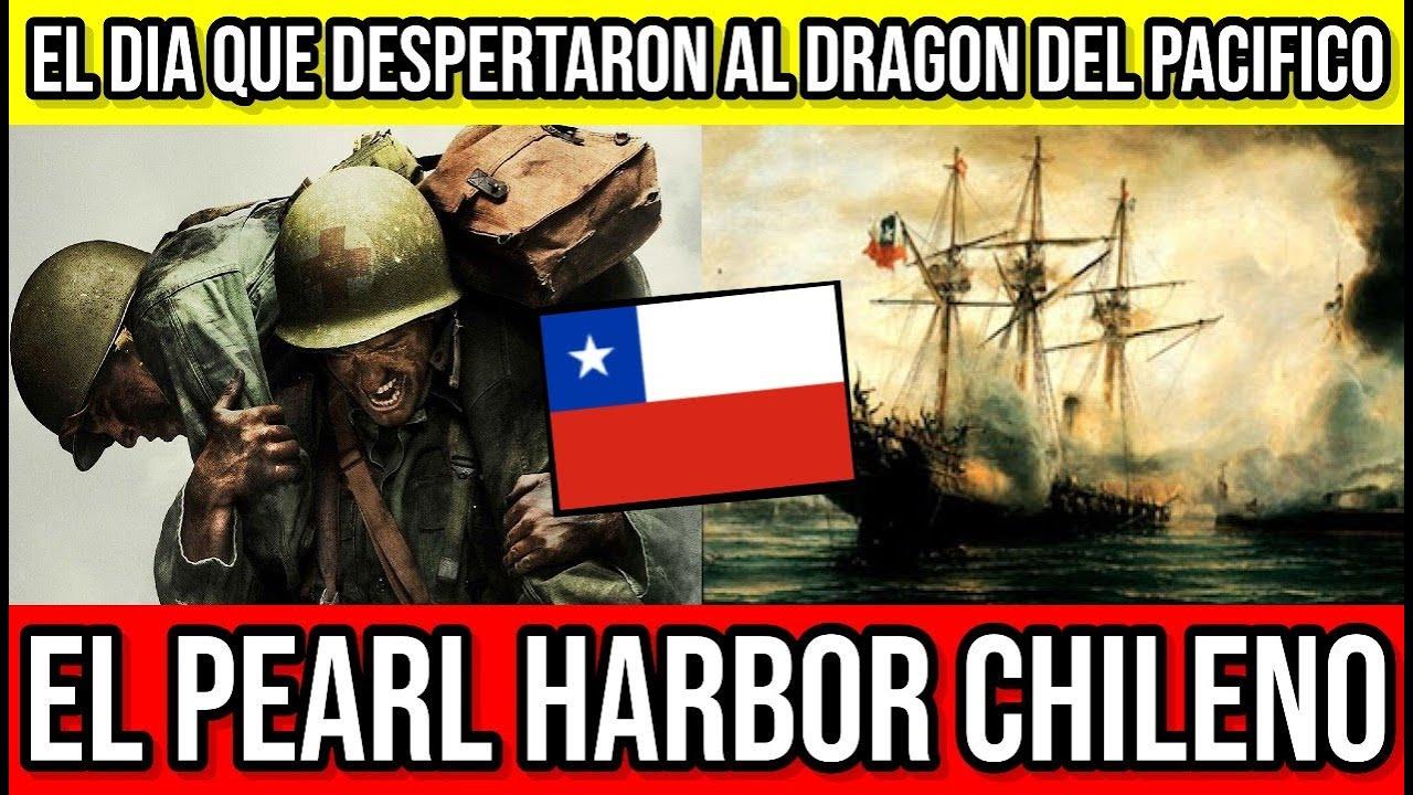 El Pearl Harbor Chileno... El Hito que Convirtió a Chile en Potencia 🔴 #Chile #Valparaiso #Temuco