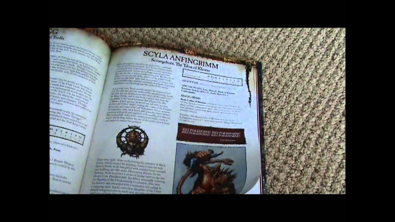 warriors of chaos army book pdf