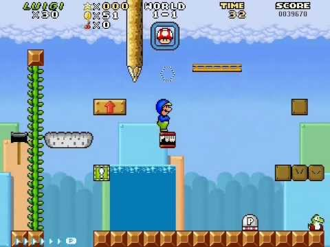 AgentTer's Super Mario Bros. fan game test update 3
