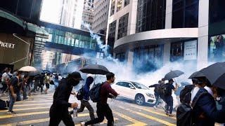 Gewaltsame Auseinandersetzung in Hongkong
