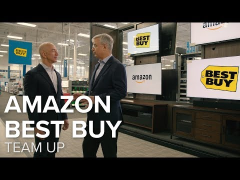 Amazon, Best Buy become BFFs to sell Fire TVs (CNET News)
