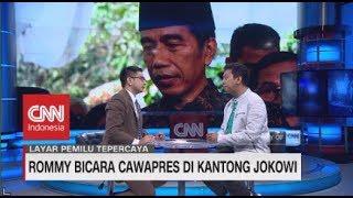 Rommy Bicara 5 Nama Cawapres di Kantong Jokowi