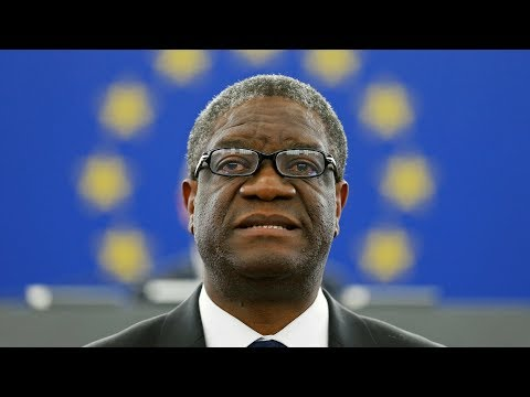 Portrait du Dr Denis Mukwege, Nobel de la paix