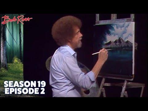 Bob Ross - Quiet Mountain Lake (Season 19 Episode 2)