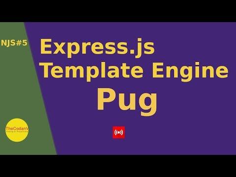 Pug Template Engine Live Video Hindi Tutorial