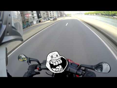 Daily Observation (3) Belgique Liège scoot road Rage Sheldon bagarre :o