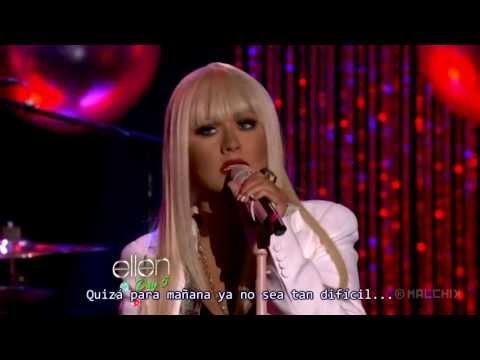 Christina Aguilera (ft. Blake Shelton) - Just A Fool [Live] [Sub Español]