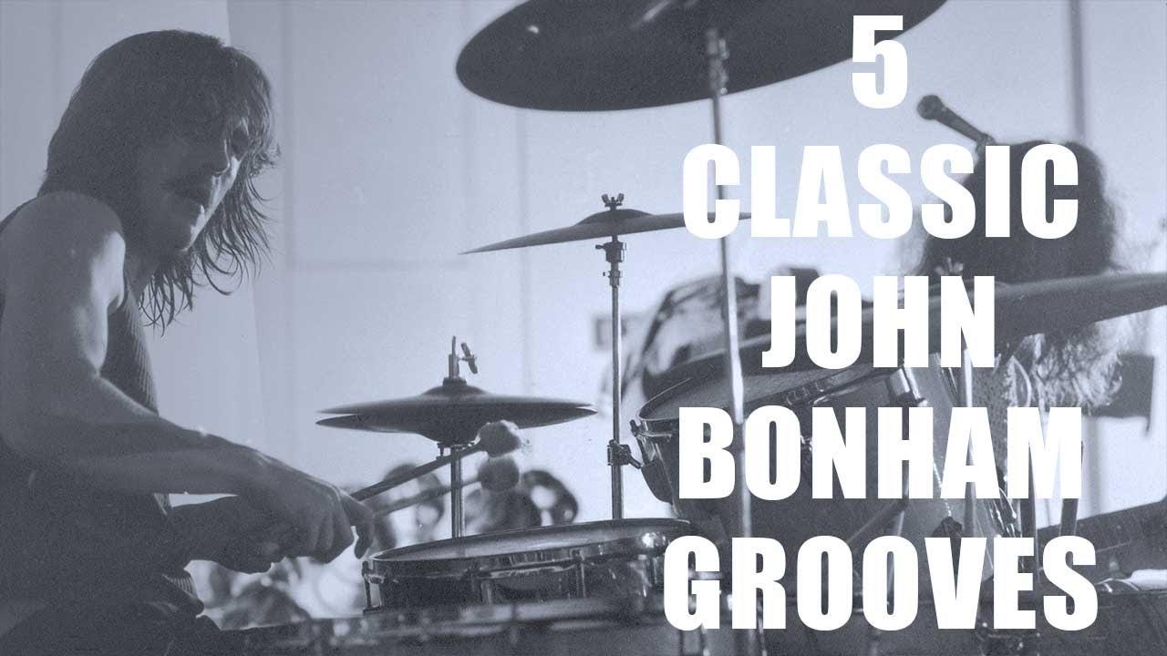 Download 5 CLASSIC JOHN BONHAM GROOVES