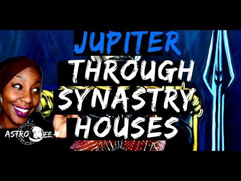 Jupiter Through Synastry houses(Big poppa LOVE)