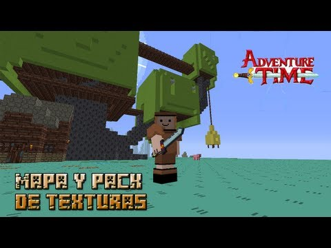 Minecraft 1.5.2/1.7.2 | MAPA DE HORA DE AVENTURA + RESOURCE PACK!!! Videos De Viajes