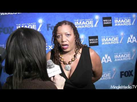 Bernice L. McFadden at 42nd NAACP IMAGE AWARDS NOMINEES