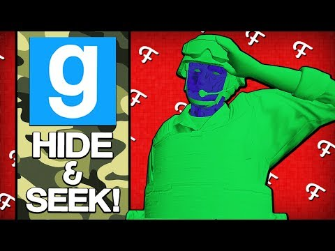 Gmod: Toy Soldier Army Men & Cheating Jukes! (Garrys Mod Hide and Seek - Comedy Gaming)