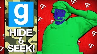 """Gmod: Toy Soldier Army Men & """"Cheating"""" Jukes! (Garry's Mod Hide and Seek Funny Moments)"""