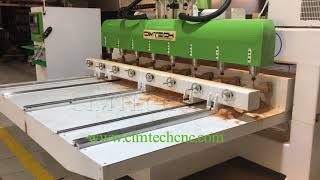 8 Spindles High Performance 4Axis 3D CNC Router for Classic Europe Style Wood Furniture Carving