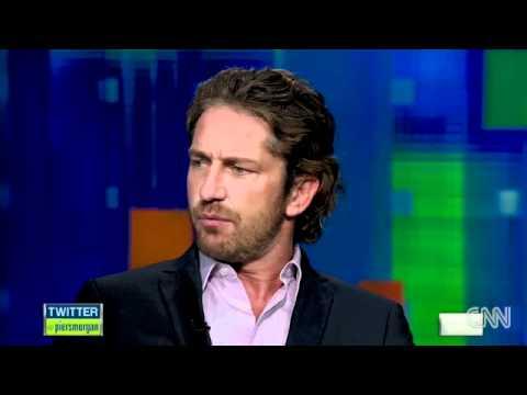 The CNN - Piers Morgan interview - Gerard Butler on his weight