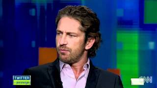 The CNN - Piers Morgan interview - Gerard Butler on his weight