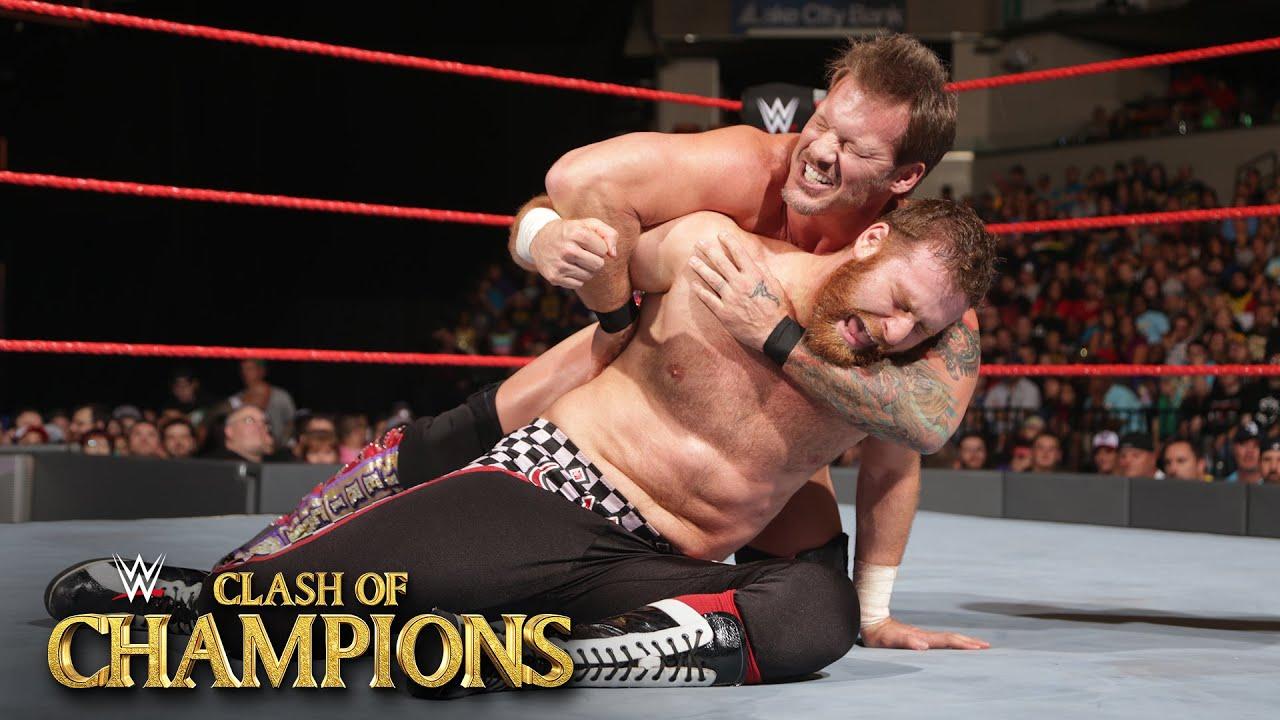 Chris Jericho vs. Sami Zayn WWE Clash of Champions 2016 on WWE Network
