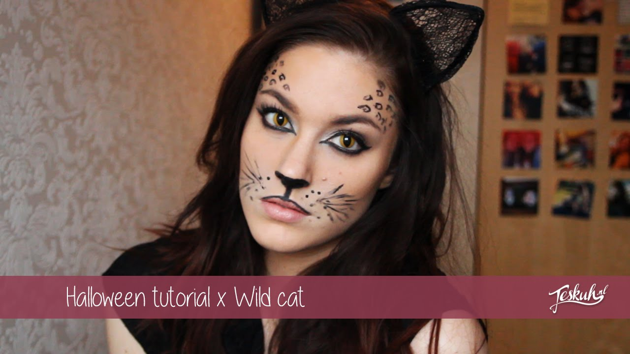 Carnavalhalloween Tutorial X Wild Cat Teske Youtube