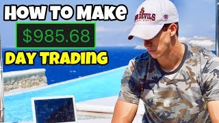 How I Made $985 Profit Day Trading | Investing For Beginners